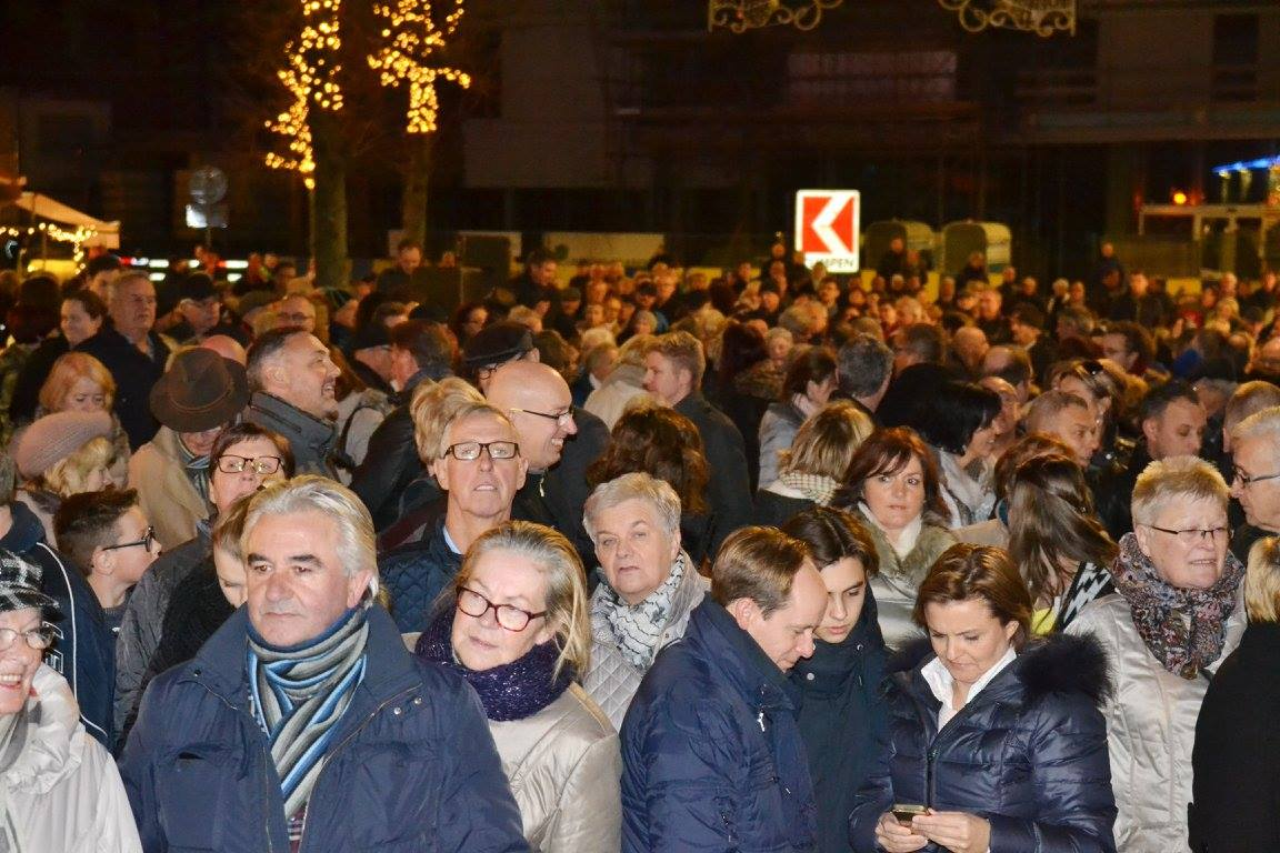Feestelijke opening Kerkstraat Lommel