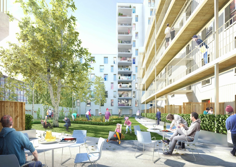 Start werken woonproject City Gate in Anderlecht