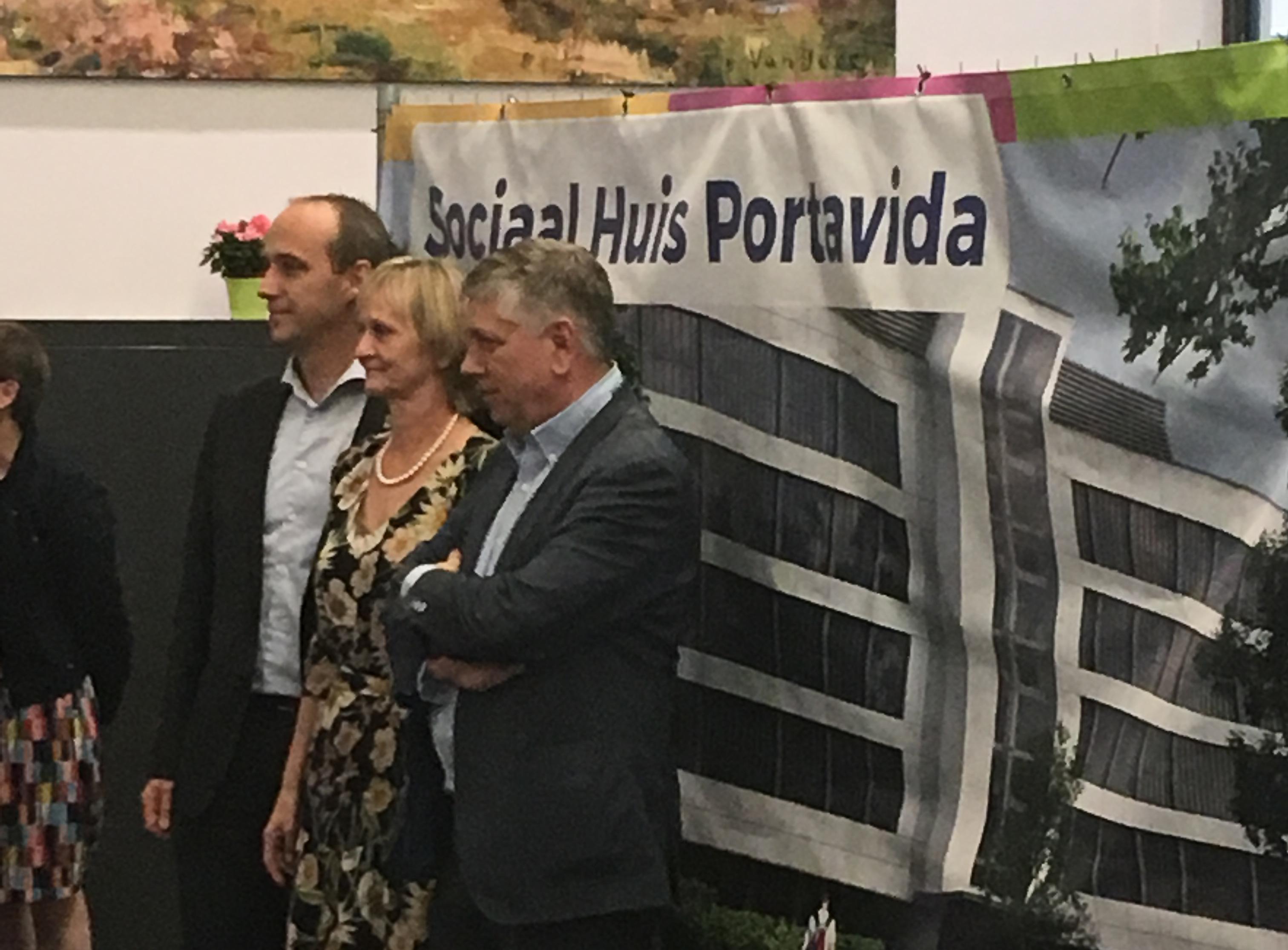 Le site de bien-être Portavida à Genk constitue le pivot pour services sociaux et assistance