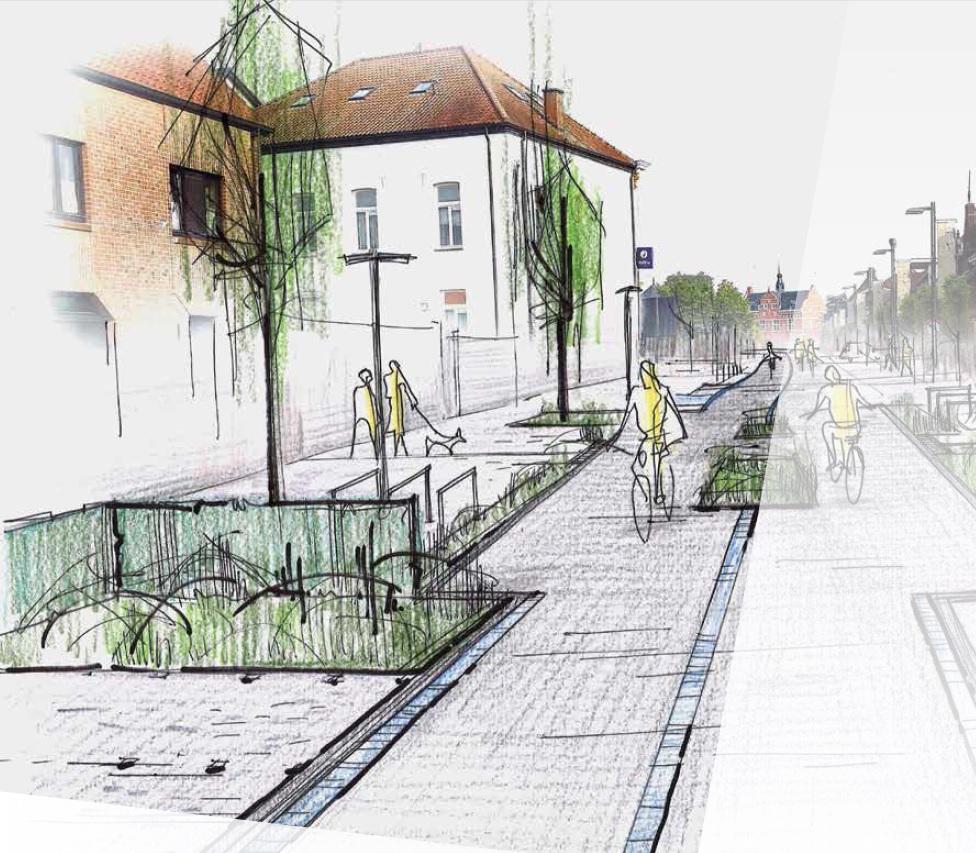 Kasseien maken plaats voor fietsvriendelijk wegdek in centrum Peer