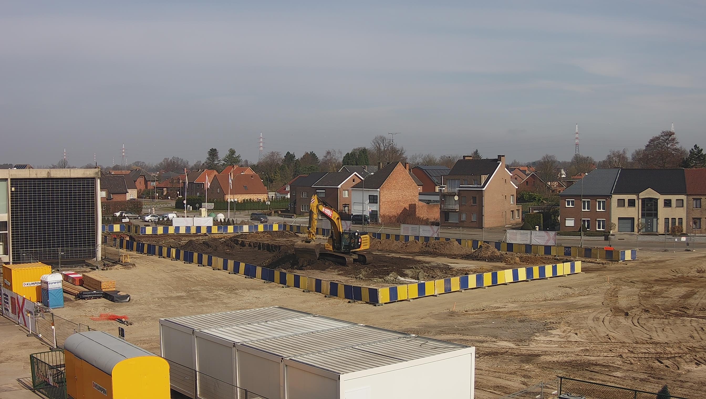 Début des travaux de terrassement pour nos nouveaux bureaux